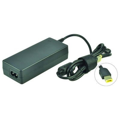 2-Power AC Adapter 20V 45W inc. mains cable Netvoeding - Zwart