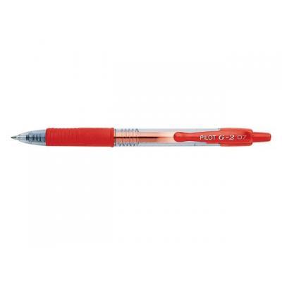 Pilot pen: Gelpen g2 0,4mm rood