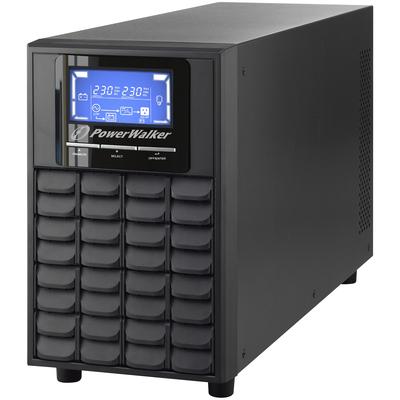 PowerWalker VFI 2000C LCD UPS - Zwart