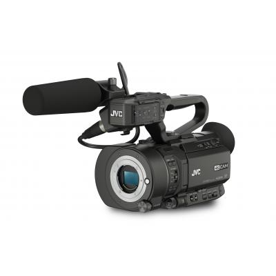 Jvc digitale videocamera: 4K Super 35mm CMOS, 2xSDHC/SDXC, HD-SDI, HDMI, XLR-in - Zwart