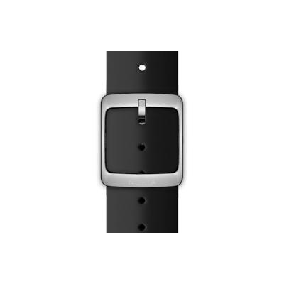 Nokia horloge-band: Silicone Wristband, 18mm - Zwart