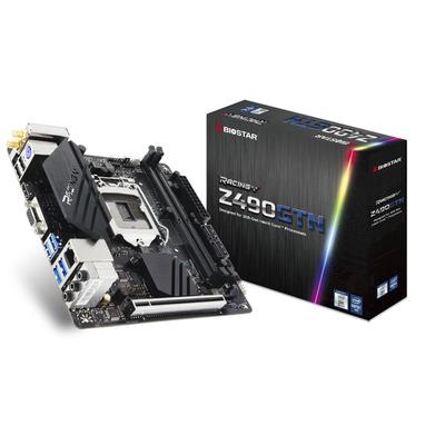 Biostar Intel Z490, Socket 1200, 2x DDR4, SATA III, M.2, LAN, USB 3.2, PS/2, HDMI, VGA, Mini ITX, 170x170 mm .....