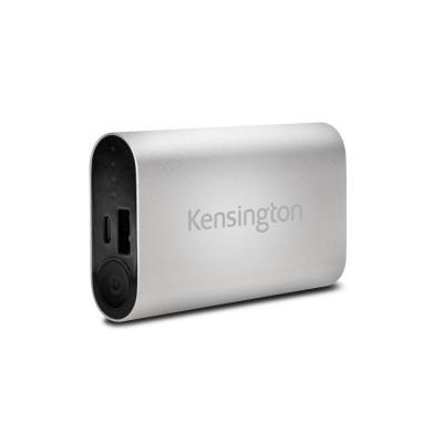 Kensington powerbank: 5200 USB mobiele oplader (zilver)