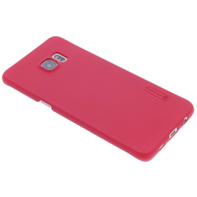 Frosted Shield Backcover Samsung Galaxy S6 Edge Plus - Rood / Red Mobile phone case