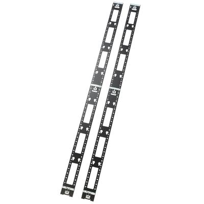 APC Lodret kabelorganizer, NetShelter SX, 42U Rack toebehoren - Zwart