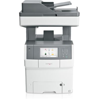 Lexmark X748dte Multifunctional - Zwart, Cyaan, Magenta, Geel