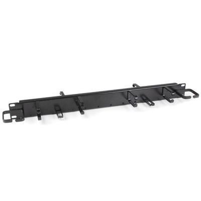 """StarTech.com 1U 19"""" horizontaal kabelmanagement paneel / kabelgoot met horizontale en verticale ....."""