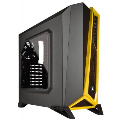"Corsair behuizing: Carbide Mid Tower, MicroATX, ATX, Mini-ITX, 3x3.5"", 4x2.5"", 2xUSB 3.0, 2x120mm LED, 1x120mm, ....."