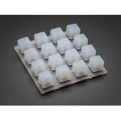 Adafruit : Elastomer 4x4 Button Keypad - for 3mm LEDs