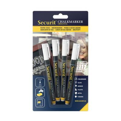 Securit : Chalkmarker, White