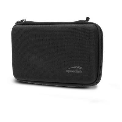 Speed-Link portable game console case: CADDY - Zwart
