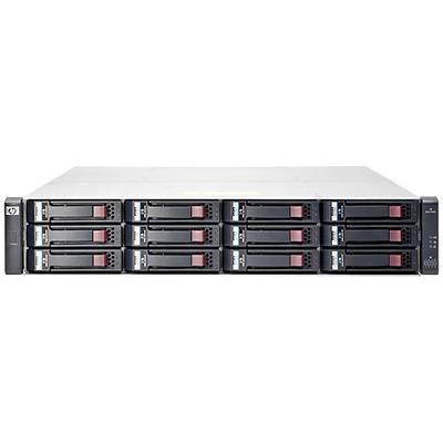 Hewlett packard enterprise SAN: MSA 1040 - Zwart