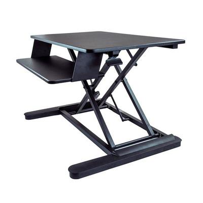 StarTech.com Zit sta bureau converter met 90 cm x 66,6 cm werkblad - Zwart
