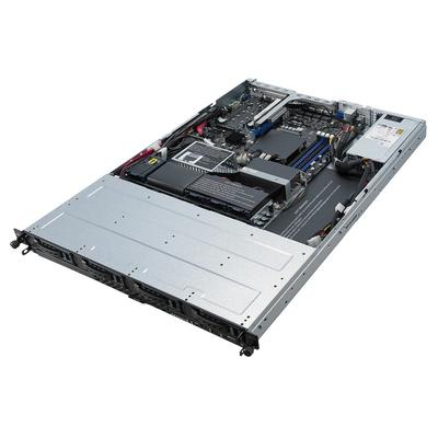 ASUS RS300-E10-PS4 Server barebone - Zwart,Metallic