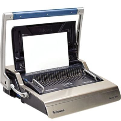 Fellowes inbindmachine: Galaxy 500 inbindmachine plastic bindruggen - Grafiet