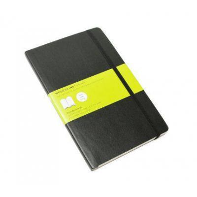 Moleskine schrijfblok: Plain Soft Notebook - Large - Zwart