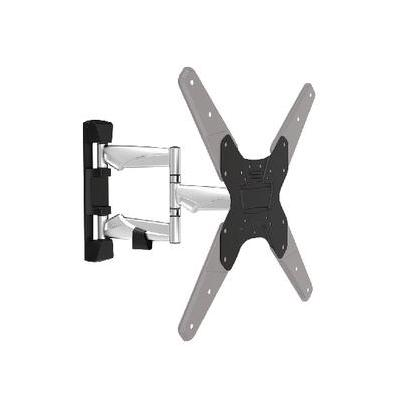 "König montagehaak: TV wall mount full motion 26 - 42""/66 - 107 cm - Zwart"