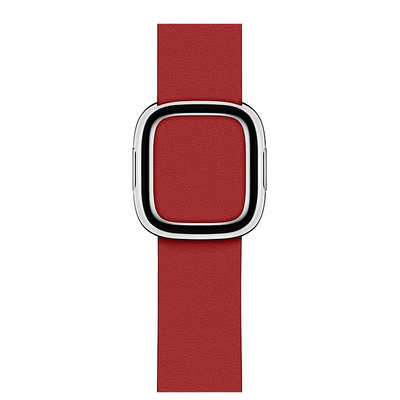 Apple Robijnrood (PRODUCT)RED bandje, moderne gesp (40 mm) - Medium
