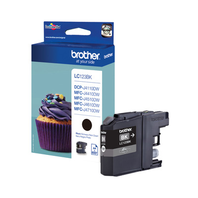 Brother LC-123BK inktcartridge