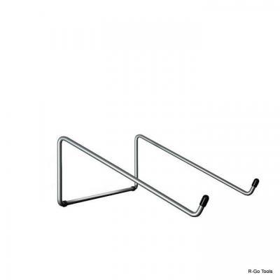 R-go tools notebooksteun: Laptopstandaard BASIC - Zilver