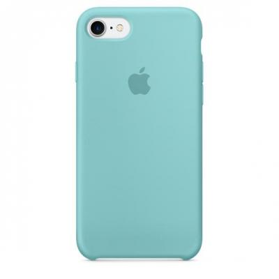 Apple mobile phone case: Siliconenhoesje voor iPhone 7 - Zeeblauw