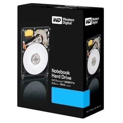 Western Digital Scorpio EIDE 80GB 5400 RPM 8MB Interne harde schijf - Refurbished ZG