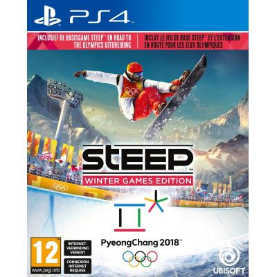 Ubisoft game: Steep (Winter Games Edition)  PS4