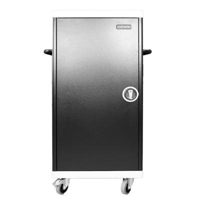 Leba NoteCart UniFit voor 16 laptops, MacBooks Apple Portable device management carts & cabinet - Zwart
