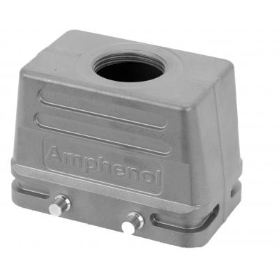 Amphenol NBR, PA, IP65, E10, M25 Multipolaire connector-behuizing - Metallic