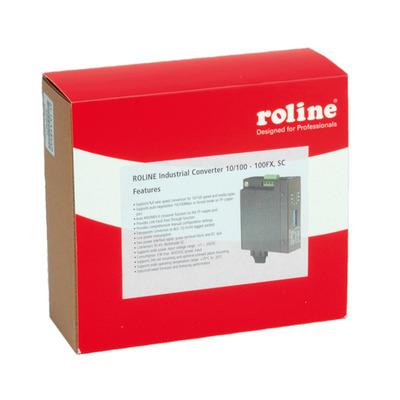 ROLINE Industrial Converter 10/100Base-T - Multimode Optical Fiber, SC Media converter