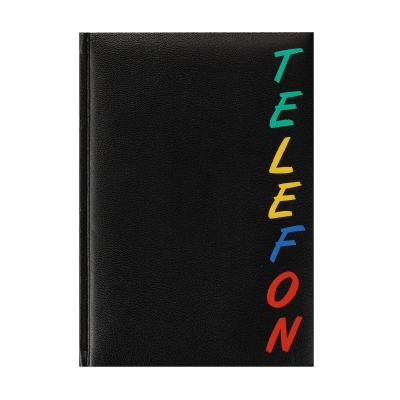 Herlitz A5, 96 pages, 15 x 21 cm Adresboek - Zwart