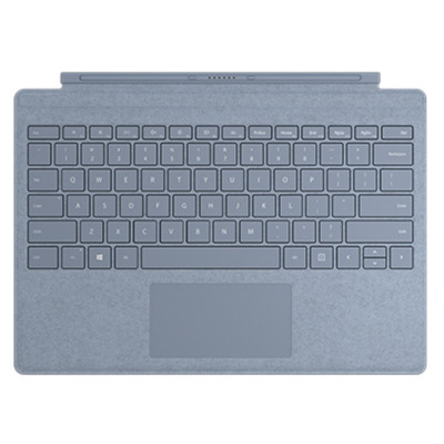 Microsoft Surface Pro Signature Type Cover Mobile device keyboard - Blauw