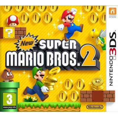 Nintendo game: New Super Mario Bros. 2, 3DS