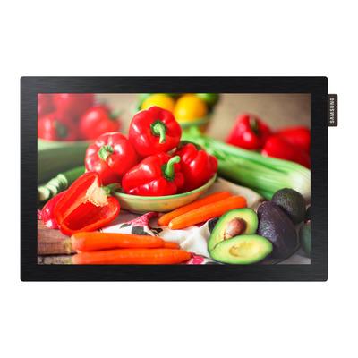 "Samsung 25.654 cm (10.1"") LED, 1280 x 800, 450 cd/m², 900:1, 30 ms, 178° / 178°, HDMI Public display - Zwart"