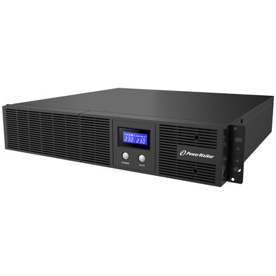 PowerWalker VI 1200 RLE UPS - Zwart