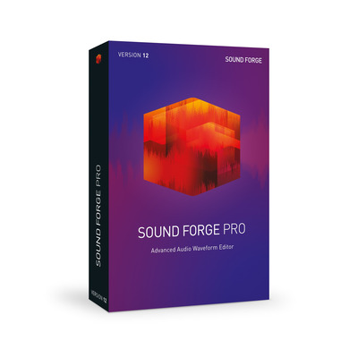 Magix , Sound Forge Pro 12 PC Audio software