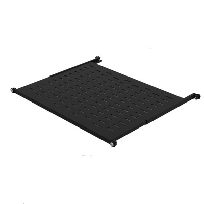 Minkels Variable perforated 19-inch shelf, 447 x 500mm Rack toebehoren - Zwart
