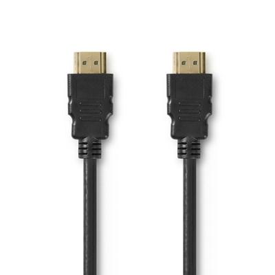 Nedis CVGP34050BK10 HDMI kabel - Zwart