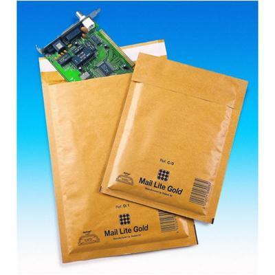 Sealed air envelop: Mail Lite - Goud