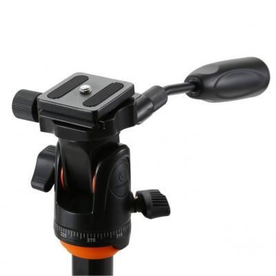 Vanguard 2-way pan/tilt head for VEO travel tripods or monopods Statief accessoire - Zwart