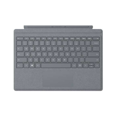 Microsoft Surface Pro Signature Type Cover - QWERTY Mobile device keyboard - Platina