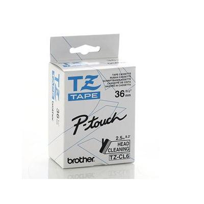 Brother labelprinter tape: TZCL6 Head Cleaning Tape 36mm