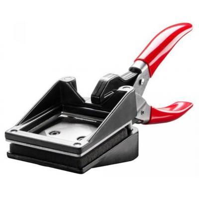 Walimex snijmachine: 50x50mm Photo Punch - Zwart, Rood