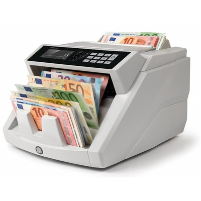 Safescan 2465-S Geldteller - Zwart, Wit