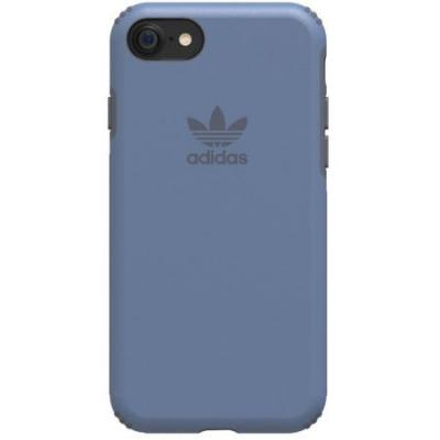 Adidas mobile phone case: Dual Layer Hard Cover Case for Apple iPhone 7 - Blue - Blauw