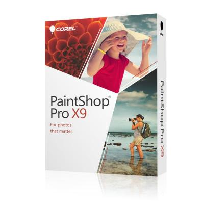 Corel grafische software: PaintShop Pro X9 ML Mini-Box