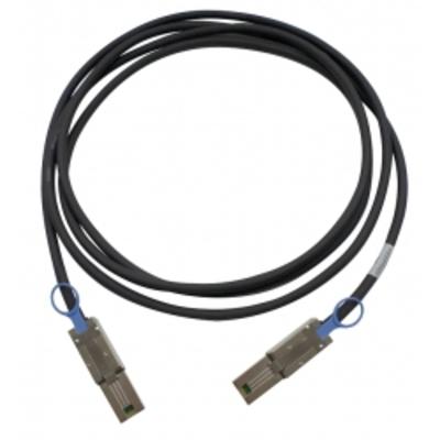 QNAP MINI SAS CABLE (SFF-8088) 2M ES1640DC EJ1600 Kabel - Zwart
