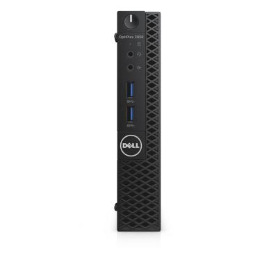 Dell pc: OptiPlex 3050 - Core i3 - 4GB RAM - 128GB - Zwart