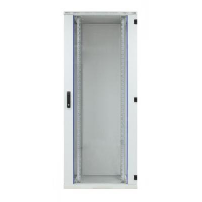EFB Elektronik Door for Standard Cabinet 42U, W=800, Glass, 1-Part, RAL7035, 1-Pt.-Lock Rack toebehoren - .....