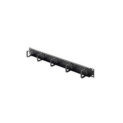 Belkin kabelklem: 1U Single-Sided Horizontal Cable Manager - Zwart